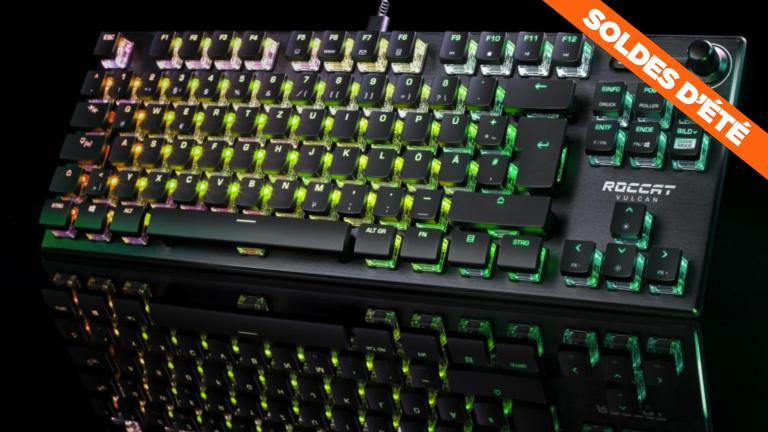 Soldes : -25% sur le Clavier gamer Roccat Vulcan TKL Pro