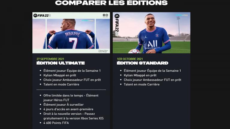 FIFA 22 : sur PC, le jeu n'aura pas les ajouts next-gen des versions PS5 et Xbox Series, explications