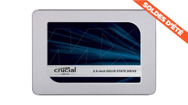 Soldes : le SSD interne Crucial MX500 1 ou 2 To disponible à prix cassé