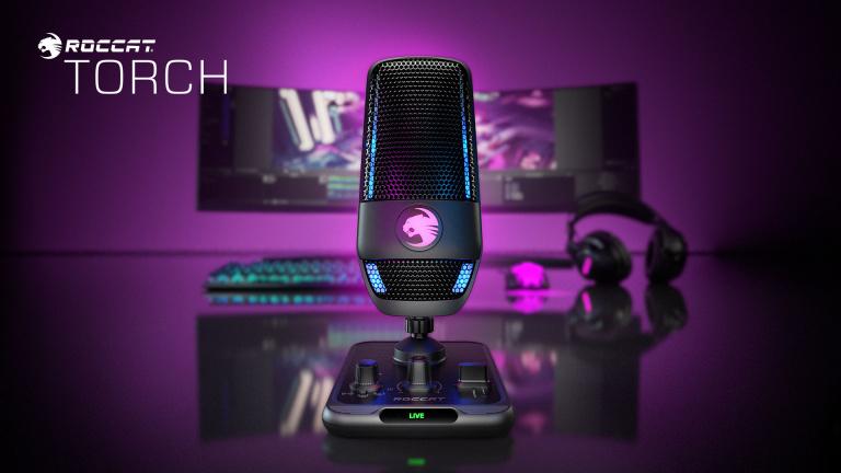 Un nouveau microphone USB pour streamer chez Roccat