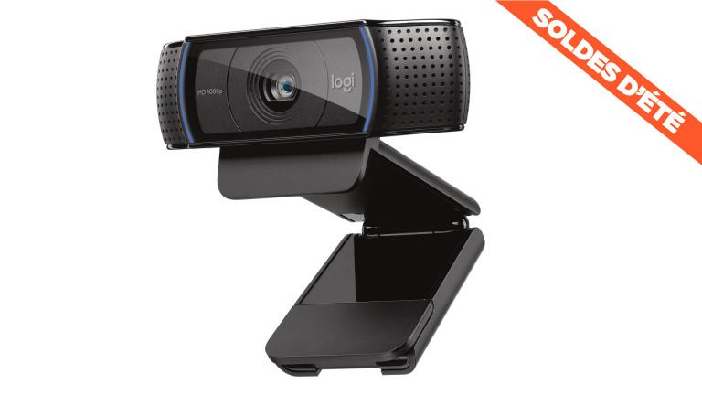 Soldes : le prix de la webcam Logitech HD Pro C920 en réduction de 15%