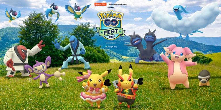 Pokémon GO Fest 2021 : bonus, Pokémon de l'événement... Notre guide du plus gros event de l'année