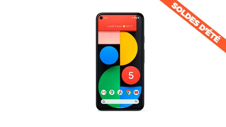 Soldes : le smartphone Google Pixel 5 est en promotion