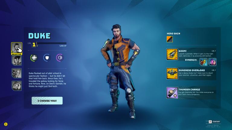 Space Punks : notre guide des personnages du jeu