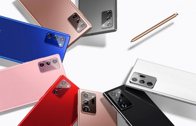 Soldes : Le Samsung Galaxy Note 20 5G à -43%