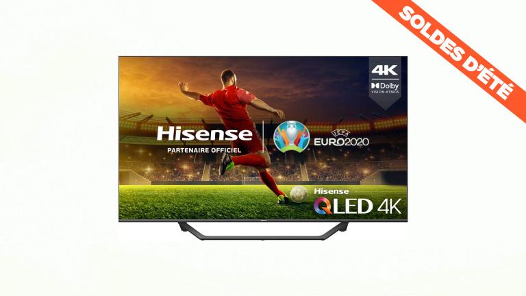 Soldes : La TV QLED 4K avec HDMI 2.1 de Hisense tombe à moins de 600€ !