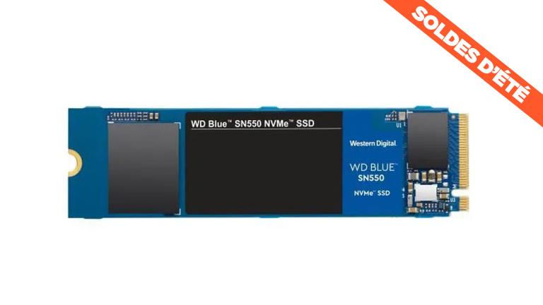 Soldes : le SSD interne NVMe 1 To de Western Digital à prix bradé