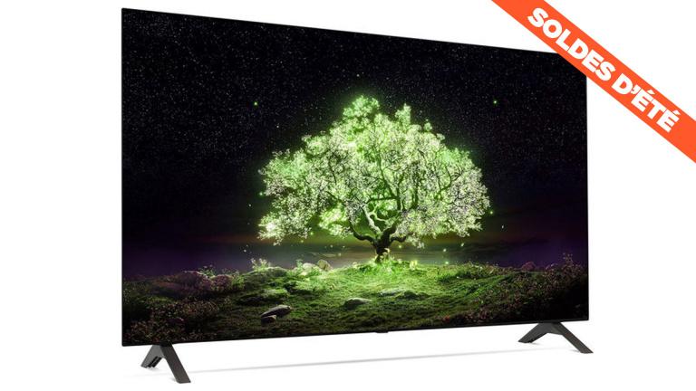 Soldes : la smart TV LG OLED 4K 55 pouces de 2021 en promotion