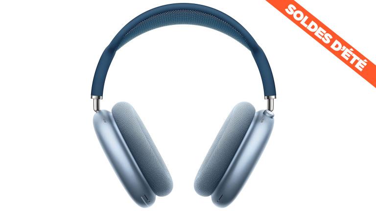 Soldes : le casque Apple AirPods Max avec réduction de bruit active en réduction