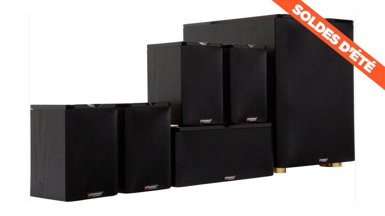 Soldes : très grosse réduction sur le home cinema 5.1 Advance Acoustic
