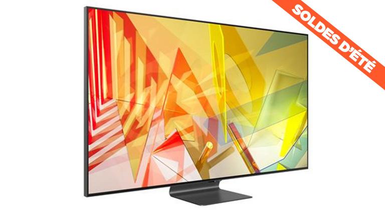 """Soldes : La TV 4K Samsung QLED de 65"""", idéale pour le jeu vidéo, en promotion"""