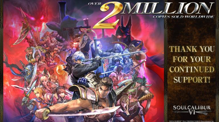 SoulCalibur 6 : les ventes enfin dévoilées, Bandai Namco remercie les joueurs