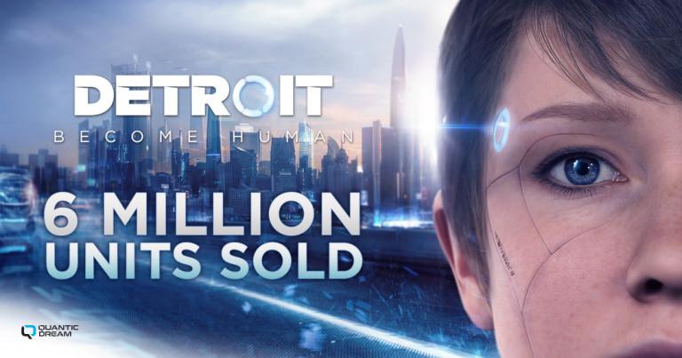 Detroit Become Human : des ventes grandissantes pour le jeu narratif, Quantic Dream fait le point