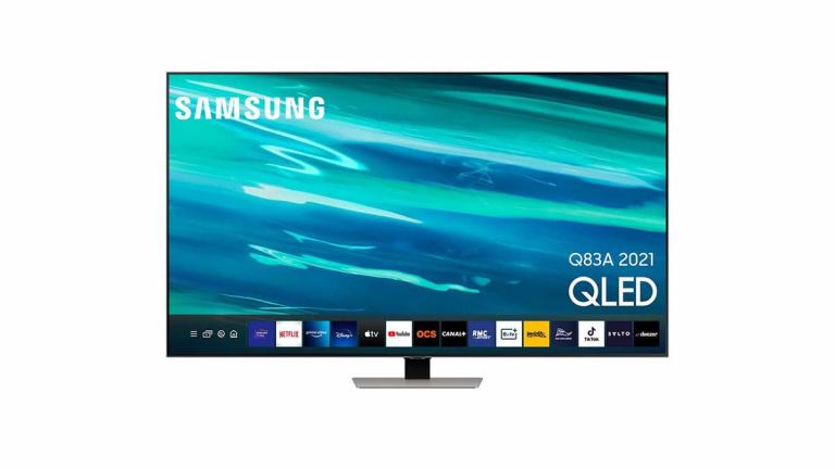Soldes : TV QLED 4K Samsung HDMI 2.1 à moins de 900€ avec ODR !