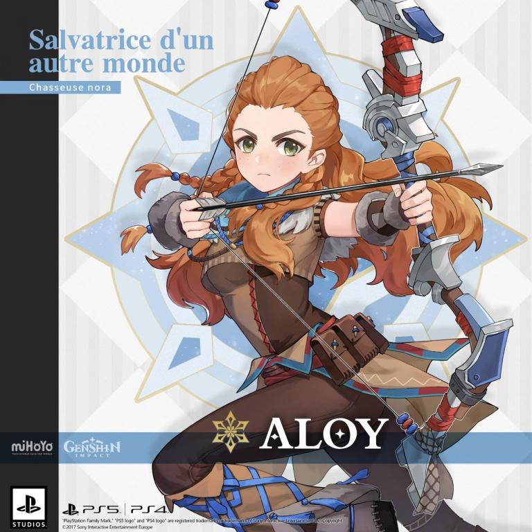 Genshin Impact : Aloy (Horizon) arrive en tant que personnage jouable