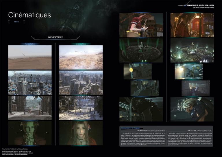 Final Fantasy VII Remake : Mana Books dévoile un ouvrage très riche intitulé Material Ultimania