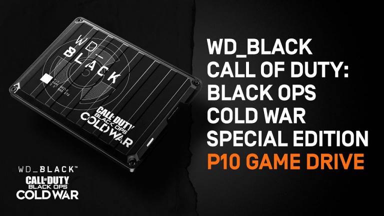 Soldes : Le disque dur externe Western Digital 2 To édition Black Ops est à -33%