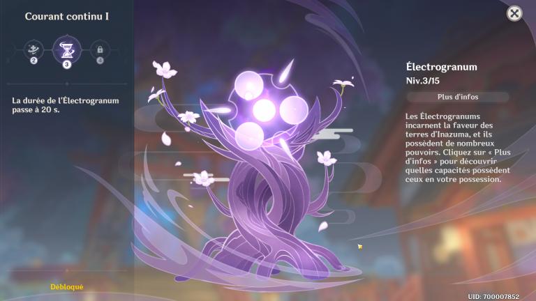 Genshin Impact, cerisier sacré d'Inazuma : son emplacement et comment augmenter son niveau et obtenir des récompenses
