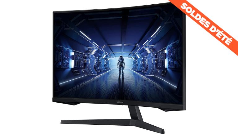 Soldes : l'écran PC gamer incurvé Samsung Odyssey G5 en promotion