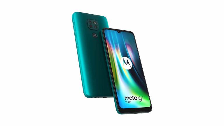 Motorola G9 Play : Un smartphone Lenovo de milieu de gamme à prix promo exceptionnel de 109€
