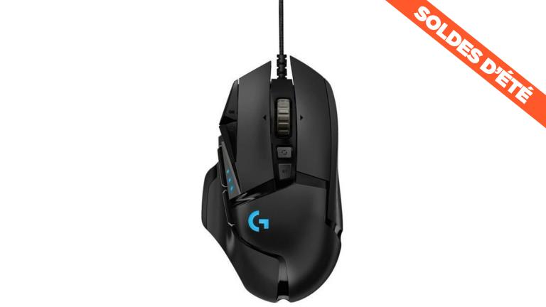 Soldes : la souris Logitech G502 au meilleur prix