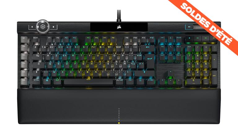 Dernières heures des soldes : le clavier Corsair K100 à prix cassé !