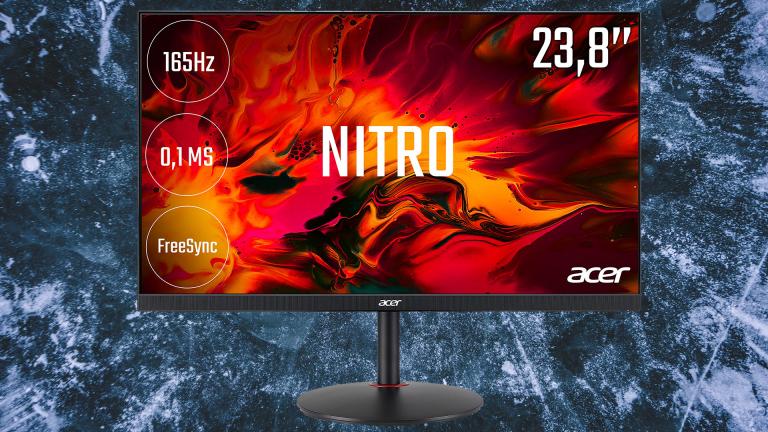 Promotion sur l'écran PC gamer Acer Nitro 23,8 pouces