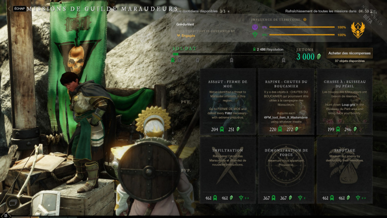 Comment level up rapidement sur New World?