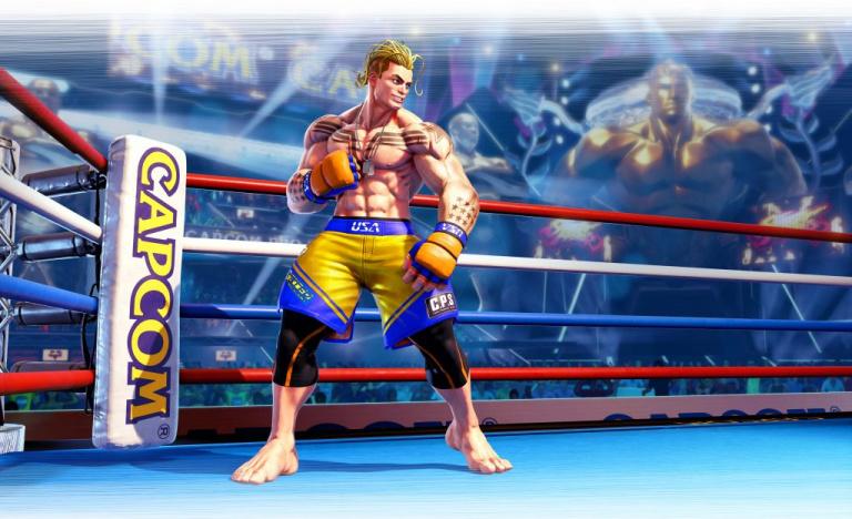 Street Fighter 5 : Le personnage Luke monte sur le ring pour la fin de la saison 5 !