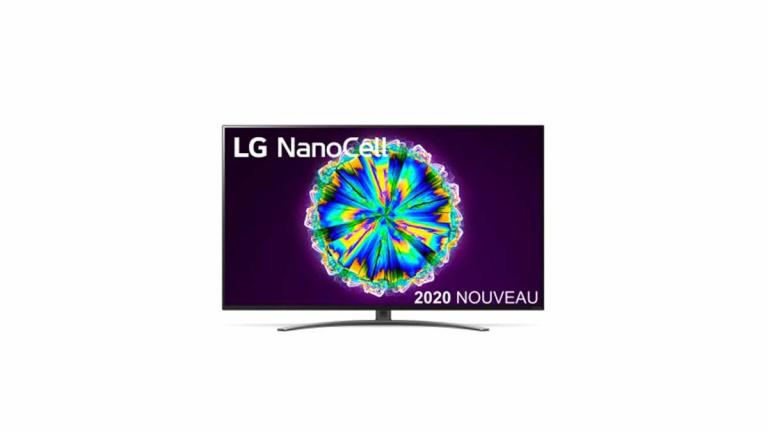 TV 4K LG Nano en baisse de prix