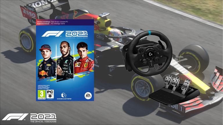 -40€ sur le Volant Logitech pour l'achat de F1 2021