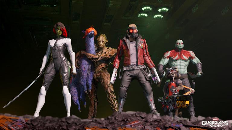 Les Gardiens de la Galaxie : bonne nouvelle concernant le développement du jeu Marvel !