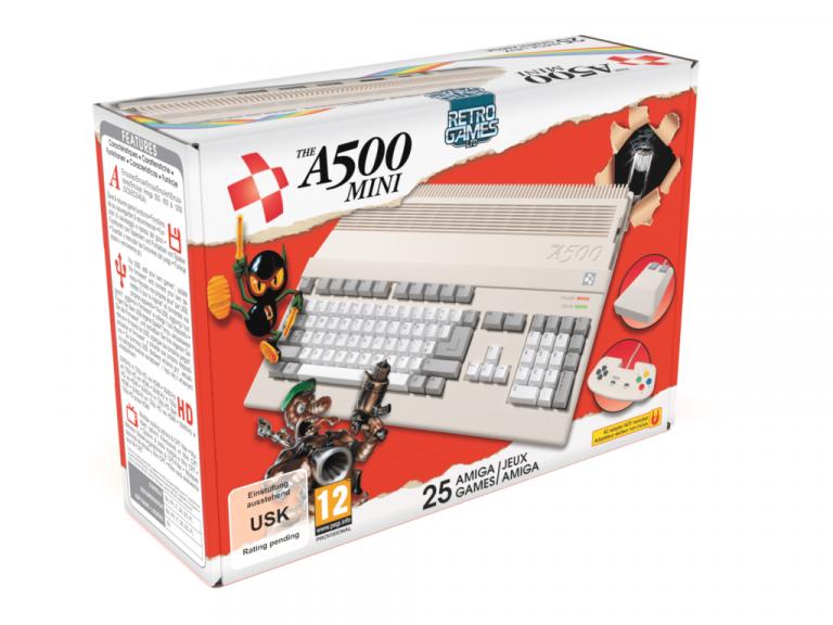 The A500 Mini : une console rétrogaming Amiga prévue pour 2022