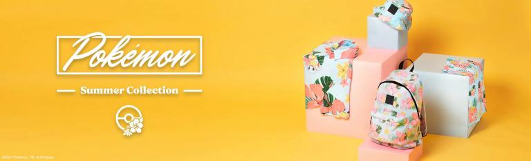 Pokémon Summer : la collection spéciale été disponible !
