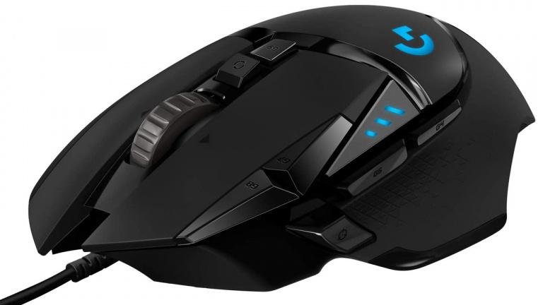 La souris gamer Logitech G502 Hero en promotion