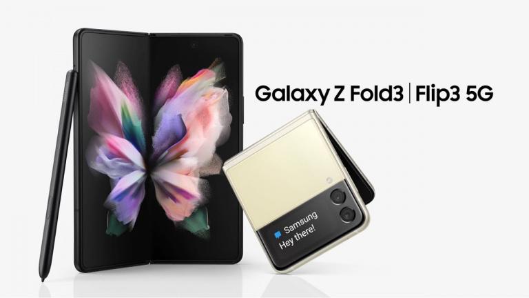 Précommande Galaxy Z Fold3 et Z Flip3, Samsung vous offre 500€