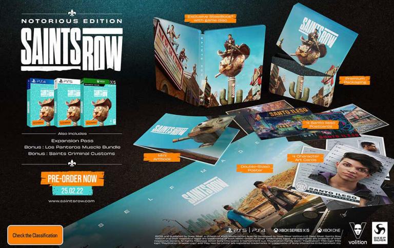 gamescom 2021 : Saints Row dévoile ses éditions (dont son collector)