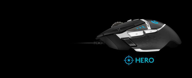 La souris gamer Logitech G502 HERO à moins de 40€