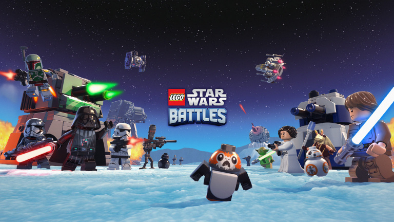 LEGO Star Wars Battles : La guerre galactique aura lieu sur Apple Arcade