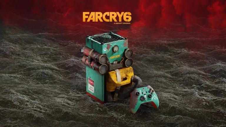 Xbox Series X : Microsoft dévoile une édition Far Cry 6 au design extravagant