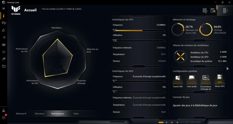 Test du PC portable Asus TUF F15 : une GeForce RTX 3050 sous le capot, qu'est ce que ça vaut ?