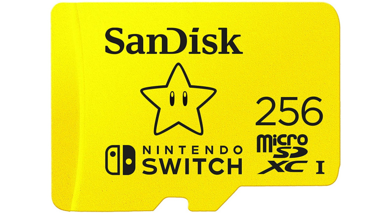 Carte Micro SD 256 Go pour Nintendo Switch ou smartphones à -48%