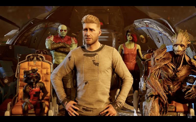 Les Gardiens de la Galaxie : le jeu Marvel illustre son histoire en mélangeant gameplay et humour