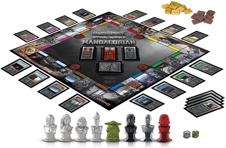 Le Monopoly édition Star Wars The Mandalorian en promotion