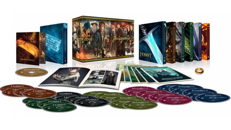 Le Seigneur des Anneaux + le Hobbit en blu-Ray 4K : le coffret La Terre du Milieu en précommande !