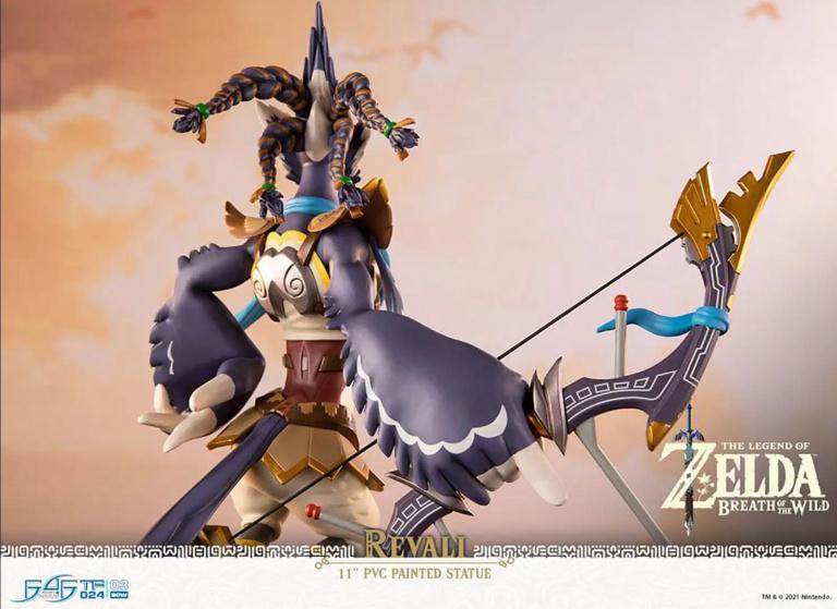 Zelda Breath of the Wild : une superbe figurine dispo en précommande