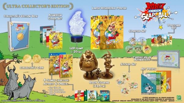 Astérix & Obélix Baffez-les Tous : Une édition Ultra Collector avec 4 jeux dévoilée par Microids