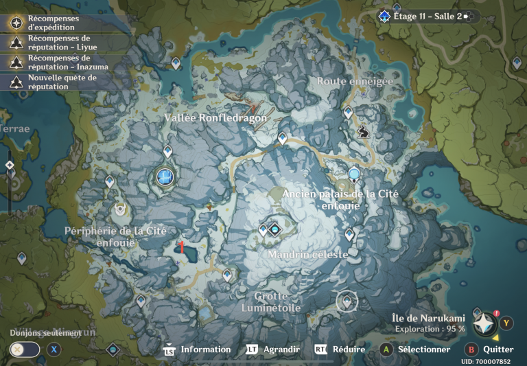 Genshin Impact, la pêche : l'emplacement de tous les points d'eau où pêcher