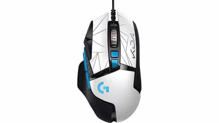Souris gamer Logitech G502 HERO édition limitée League Of Legends en promotion