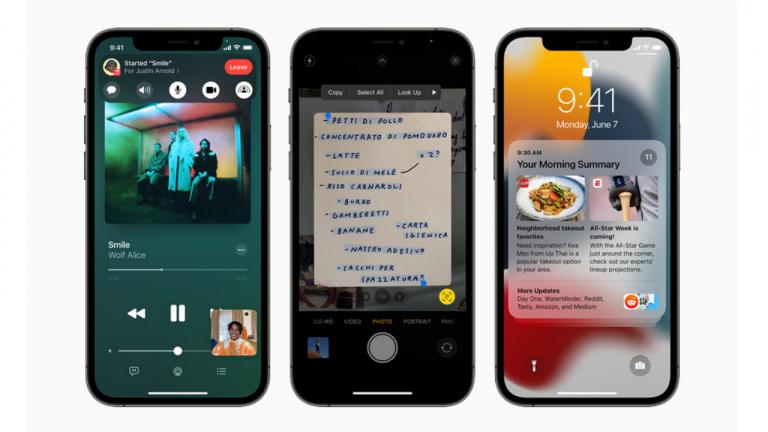 iOS 15 : les nouveautés qui changent la donne pour les iPhone